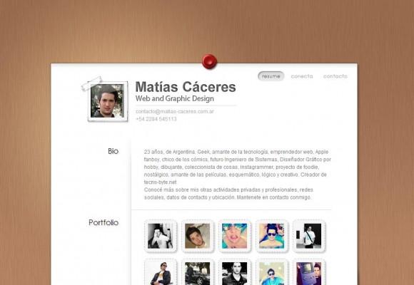 Matías Cáceres