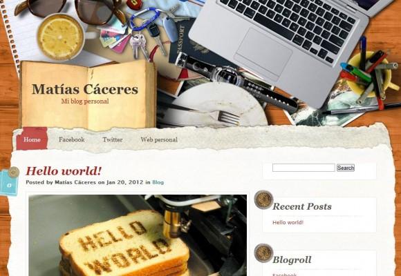 Matías Cáceres – Blog